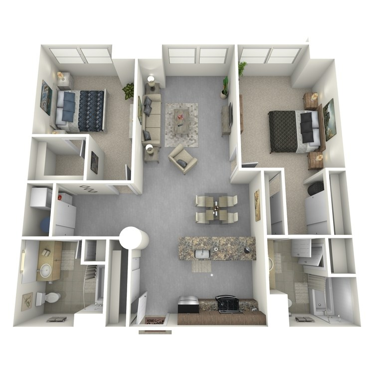 Floor plan image of Residence 20