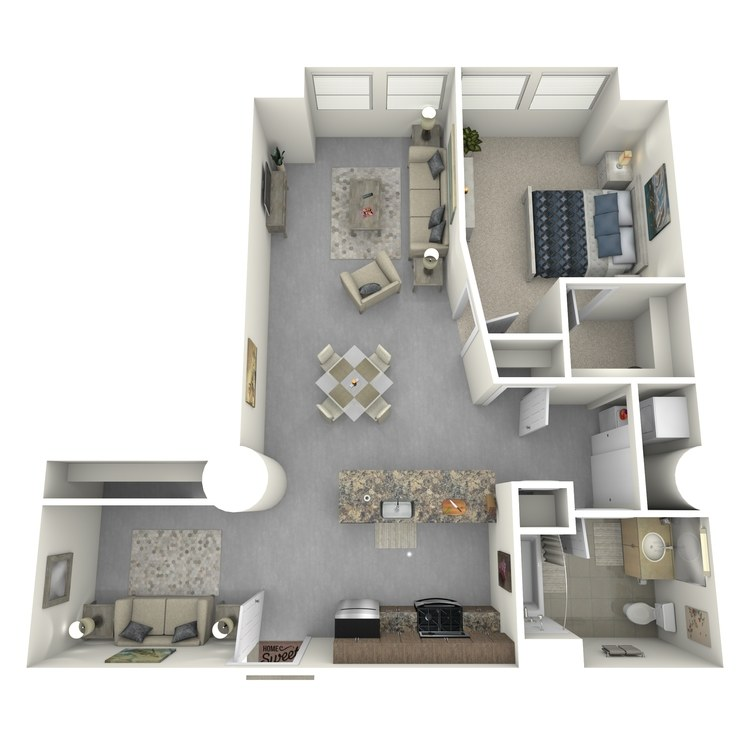 Floor plan image of Residence 01