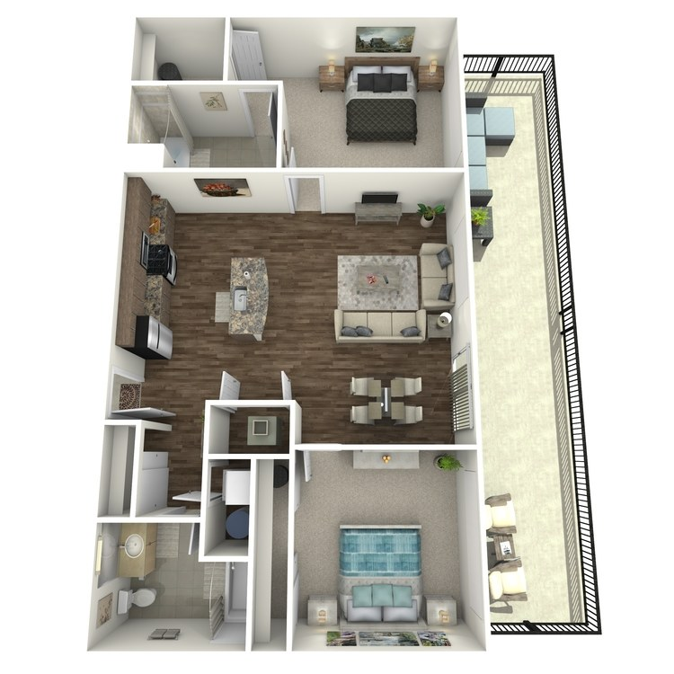 Floor plan image of Penthouse 3