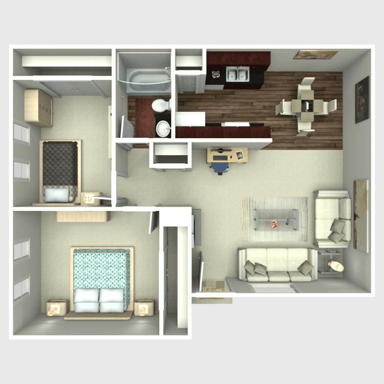 Floor plan image of The Pecan