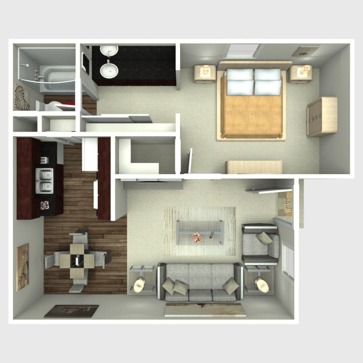 Floor plan image of Texas Sage