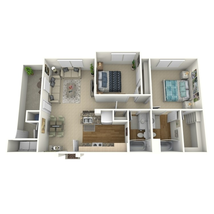 Floor plan image of Plan 2