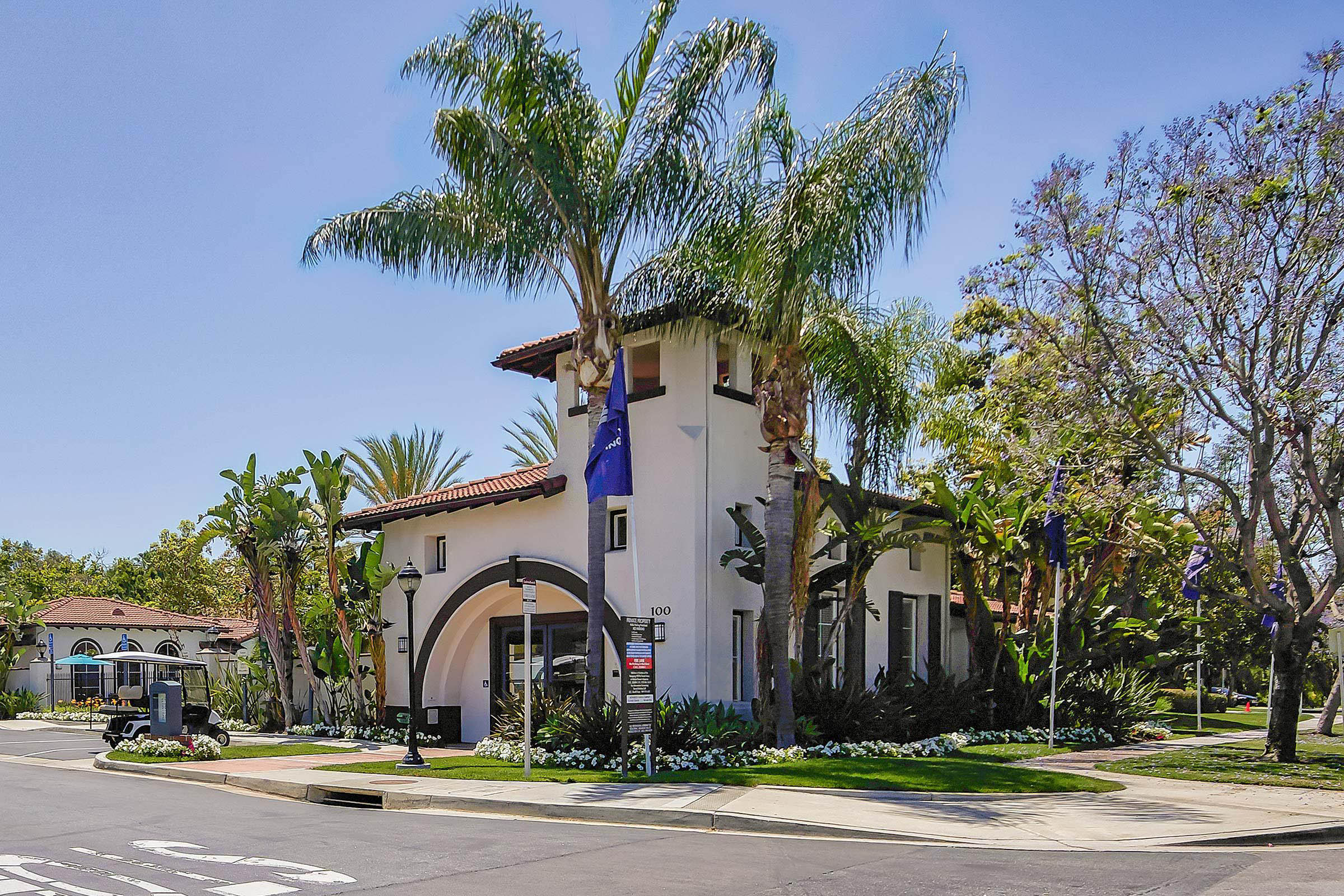 Laurel Canyon Apartment Homes leasing office