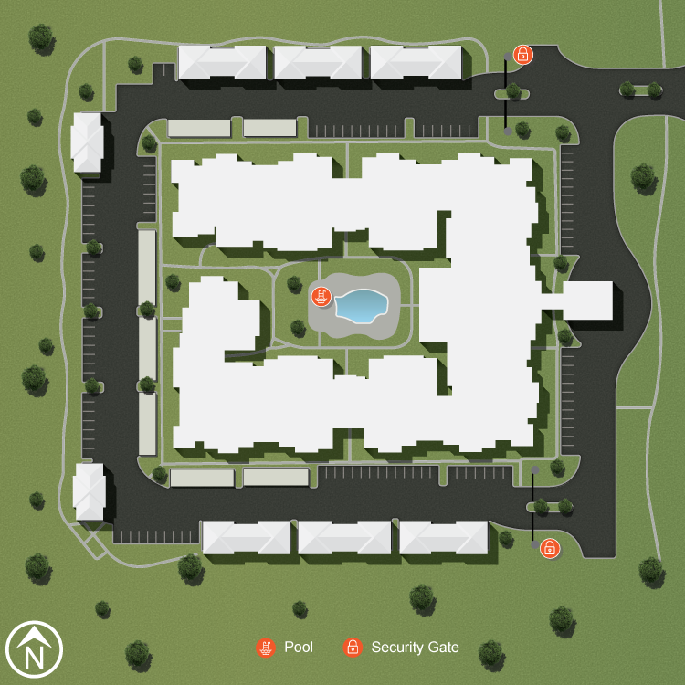 Site Map 2nd Floor