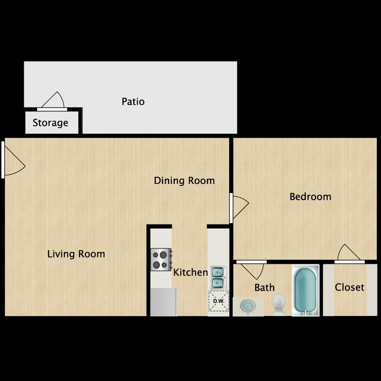 Floor plan image of A-1