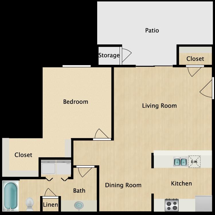 Floor plan image of A-2