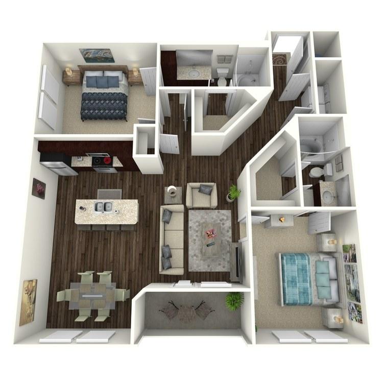 Floor plan image of Juliet C3.2