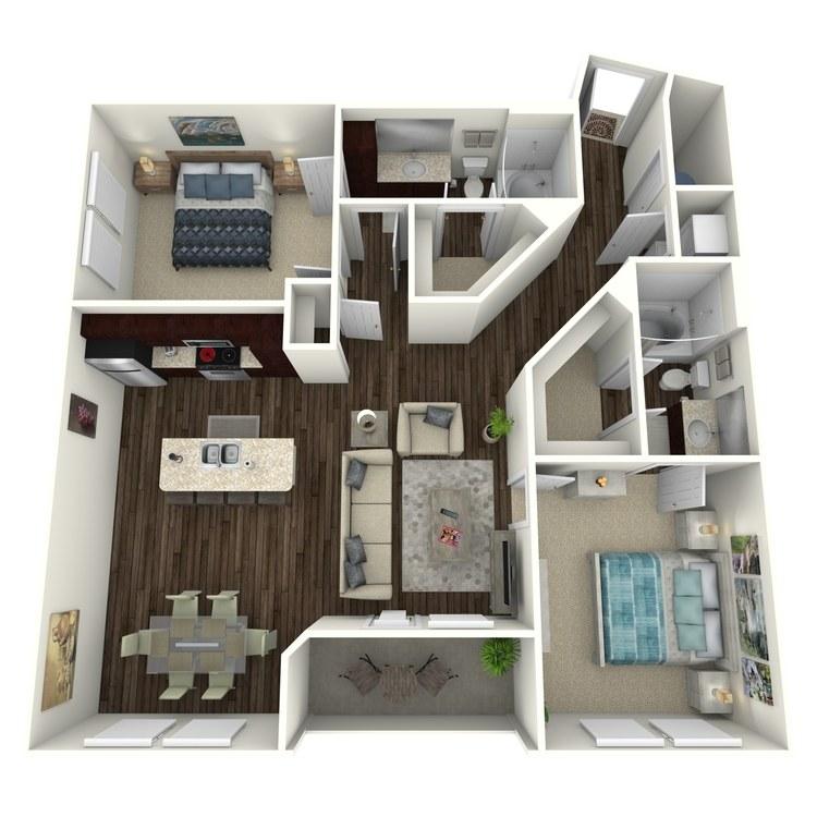 Floor plan image of Cordelia C3.3