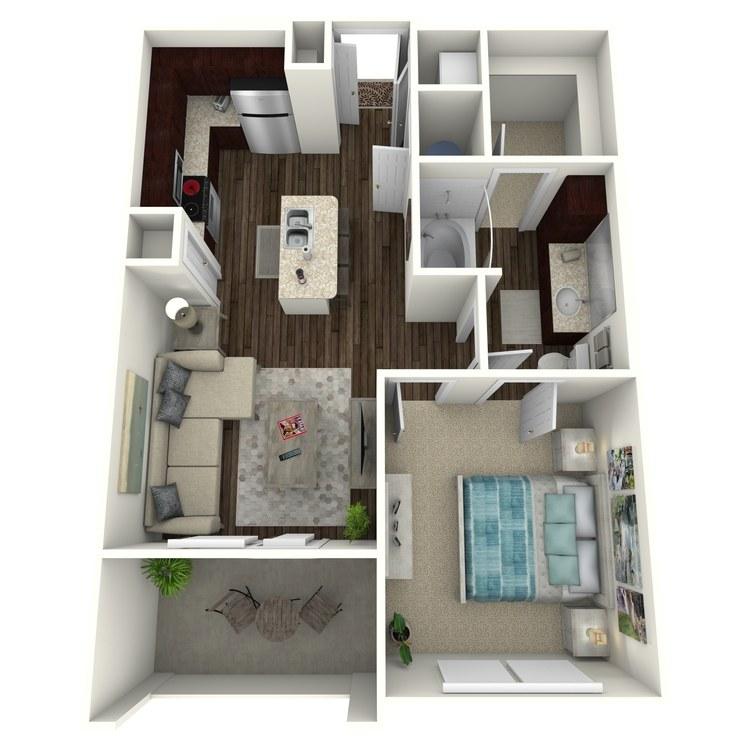 Floor plan image of Domingo A3