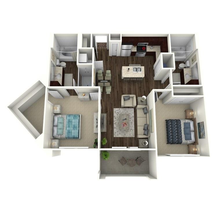 Floor plan image of Hemingway C1.2