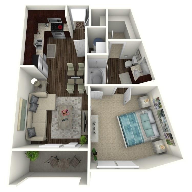 Floor plan image of Sinatra A4
