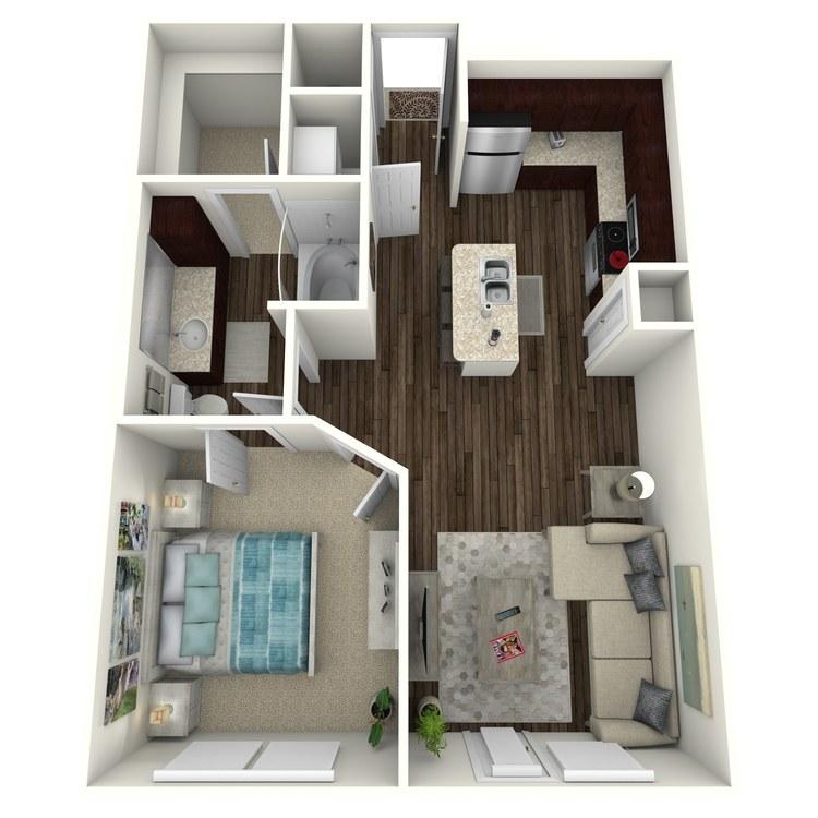 Floor plan image of Verdi A2.3