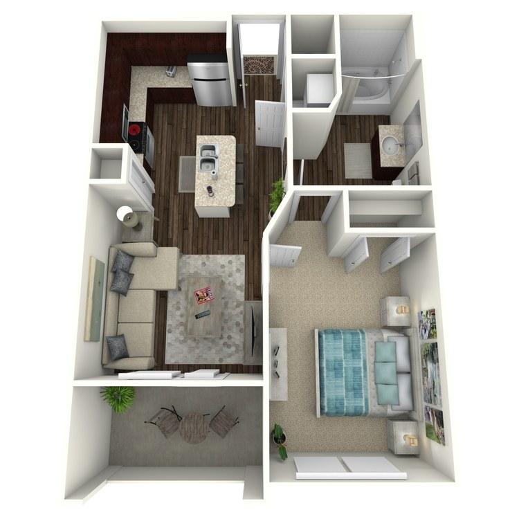Floor plan image of Kravitz A2.H