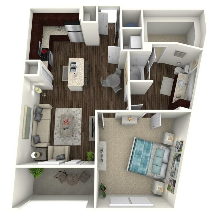 Floor plan image of Franklin A6