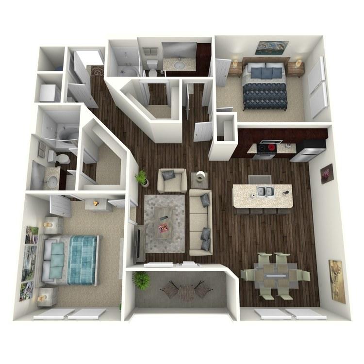 Floor plan image of Hawthorne C3.1