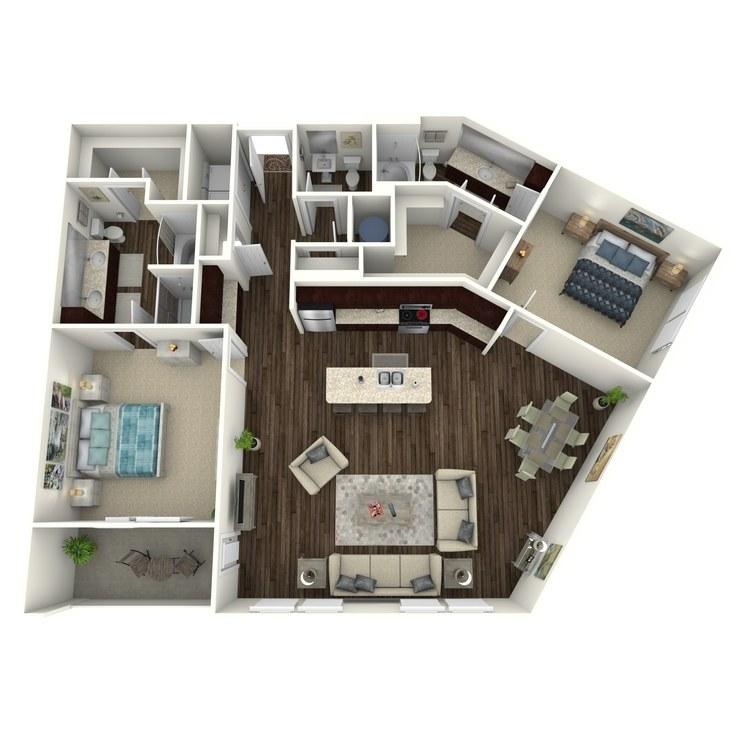 Floor plan image of da Vinci C5