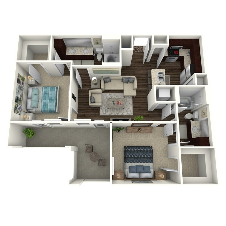 Floor plan image of Bradbury C2.1A