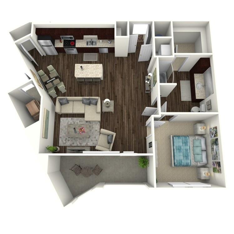 Floor plan image of Holiday A7.2