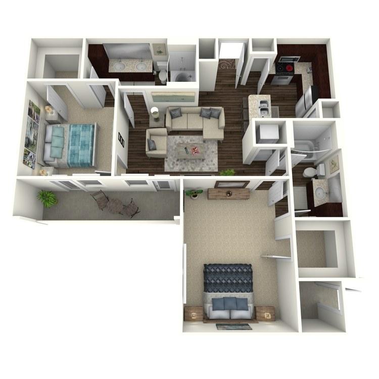 Floor plan image of Ophelia C2.2