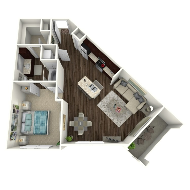 Floor plan image of Bowie A5