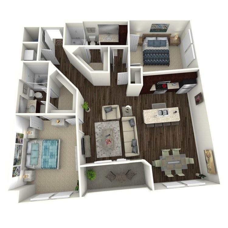 Floor plan image of Picasso C4