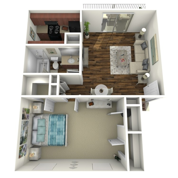 Floor plan image of A