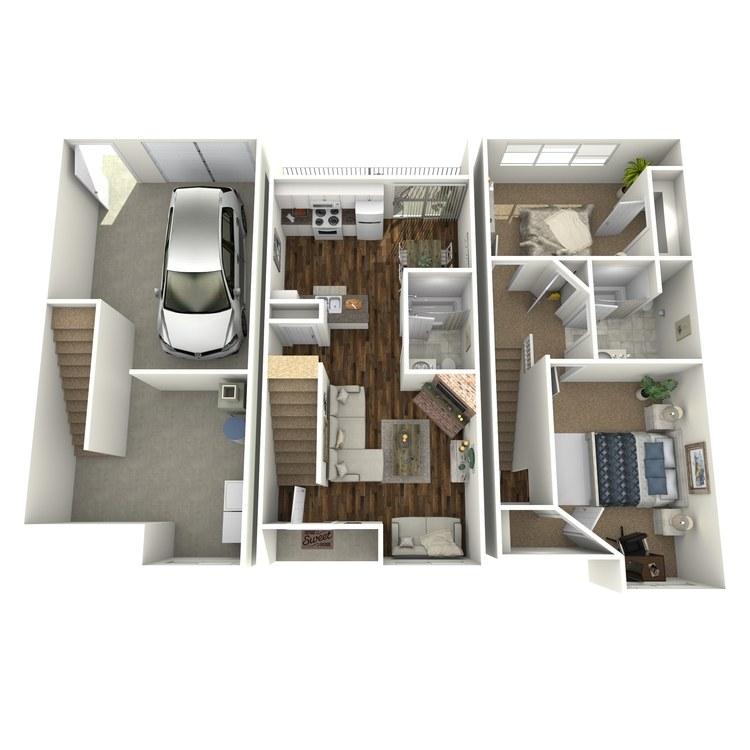 Floor plan image of Florentine