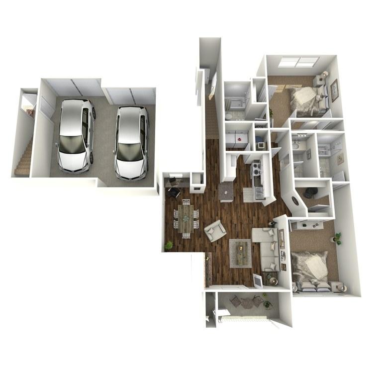Floor plan image of Santa Maria