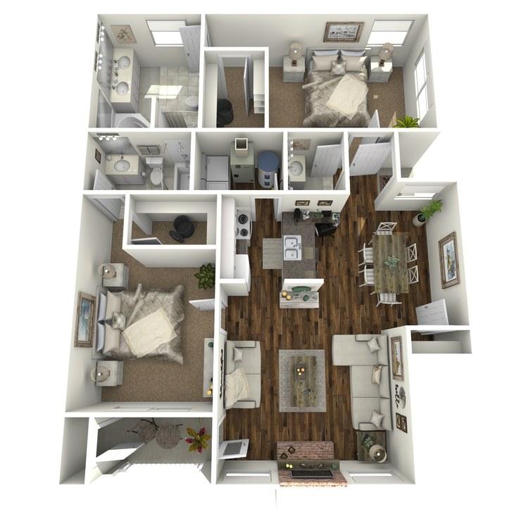 Floor plan image of Venice