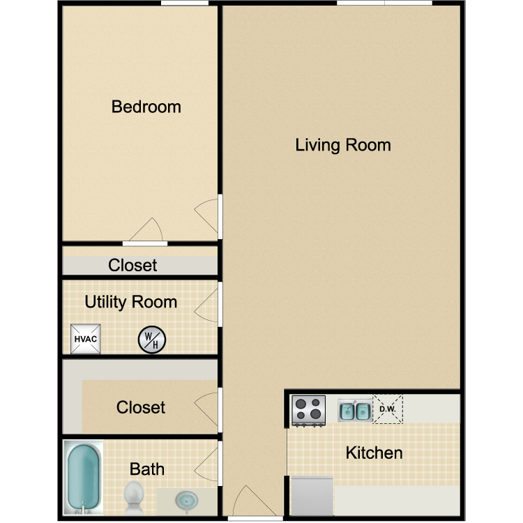 Floor plan image of The Downtown
