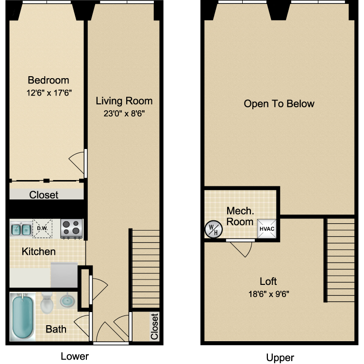 Floor plan image of The Greenwich Village