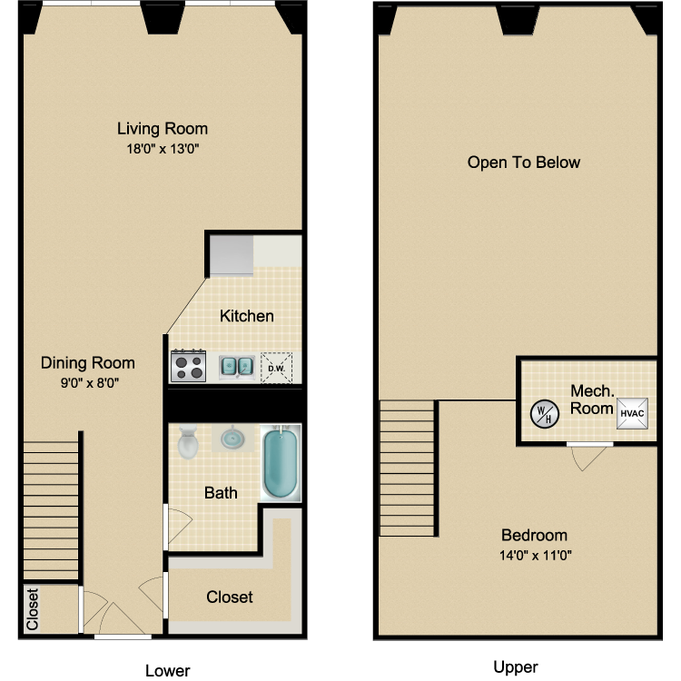 Floor plan image of The Midtown