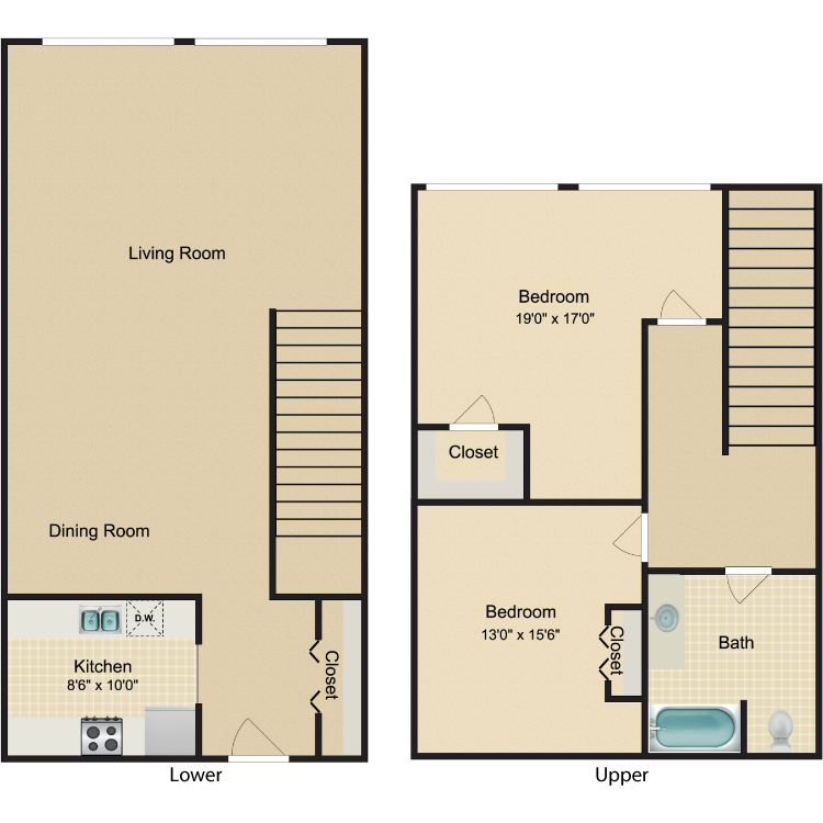 Floor plan image of The Chelsea Weaver