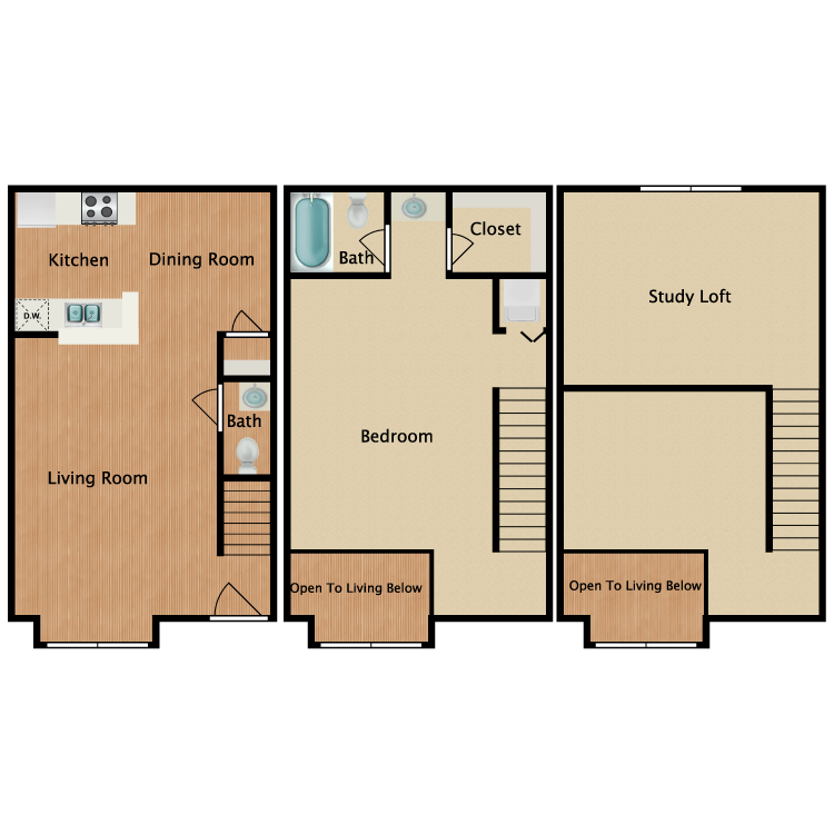 Floor plan image of J2