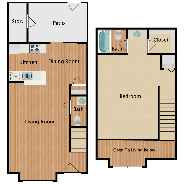 Floor plan image of J