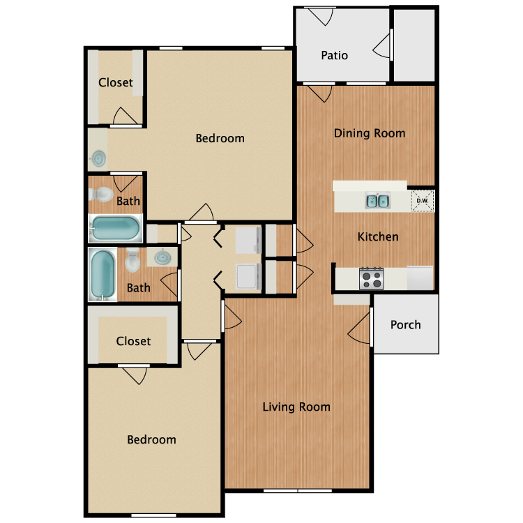 Floor plan image of G