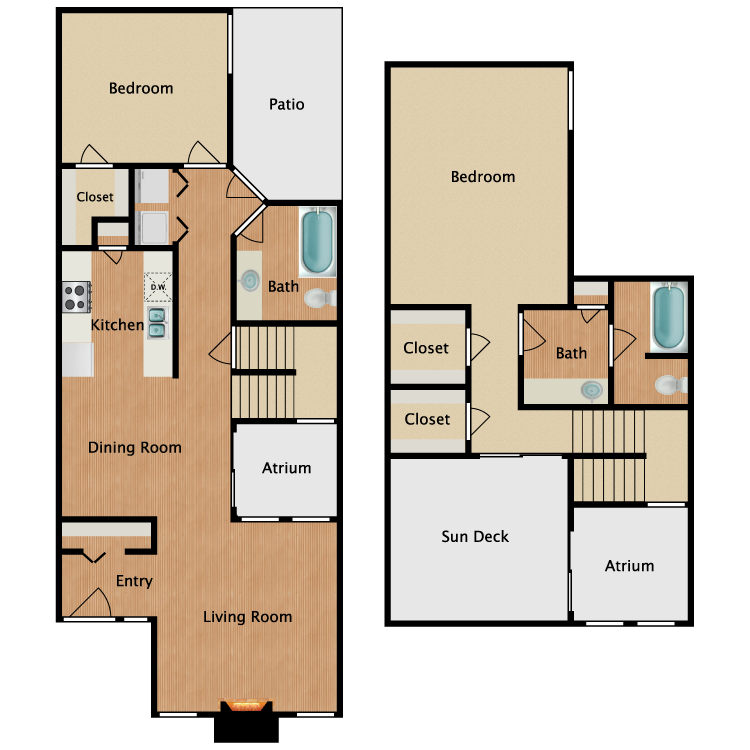 Floor plan image of P1