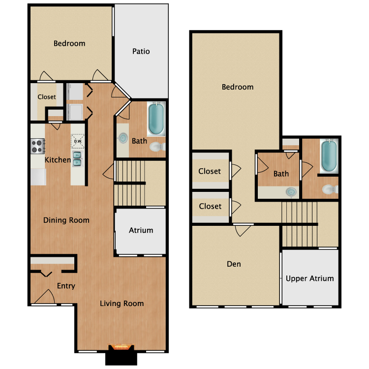 Floor plan image of P2