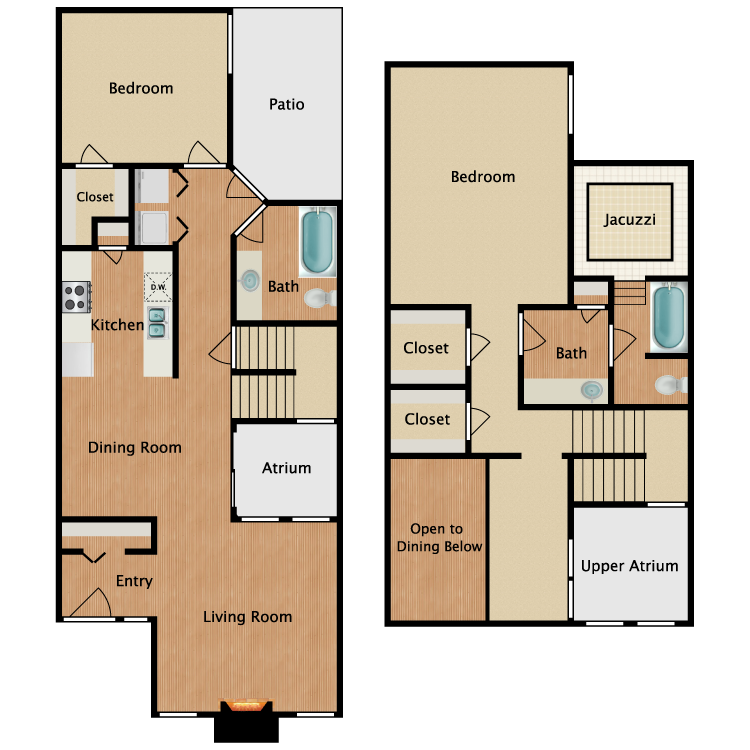 Floor plan image of P3
