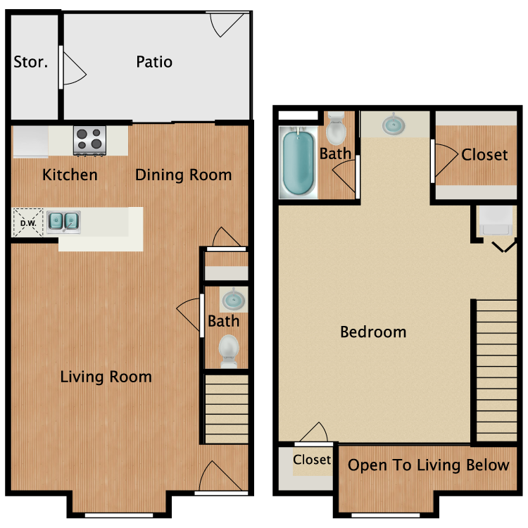 Floor plan image of J1