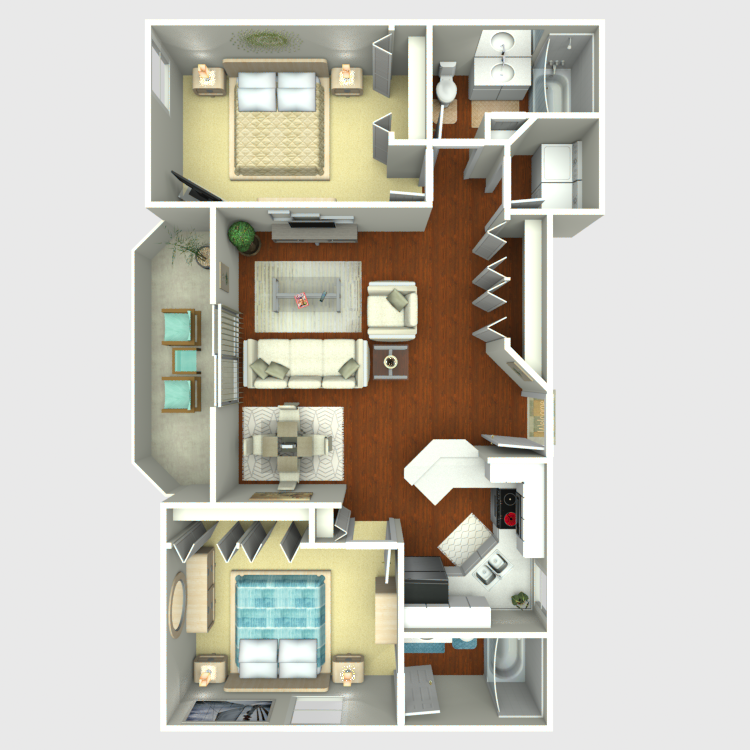 Floor plan image of Ebony