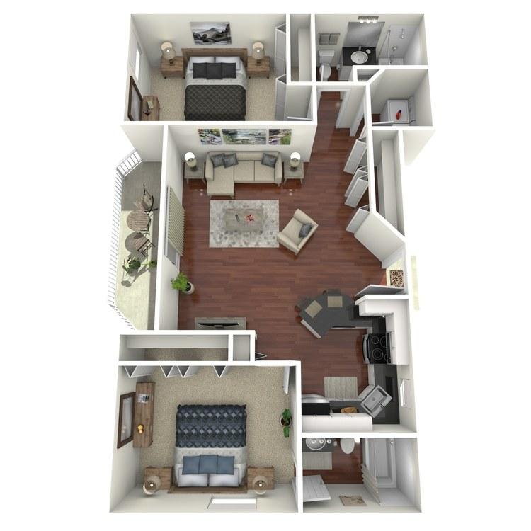 Floor plan image of Ebony