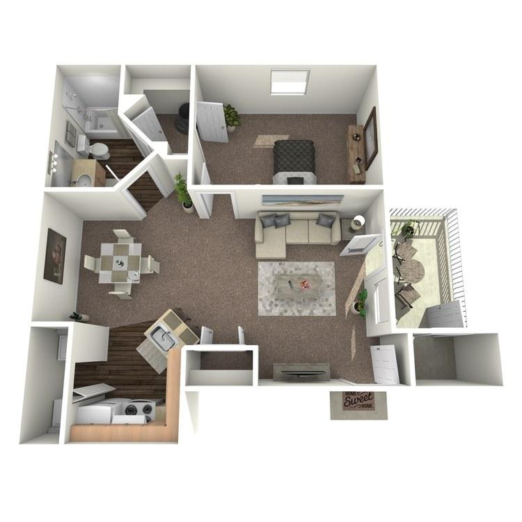 Floor plan image of Crimson