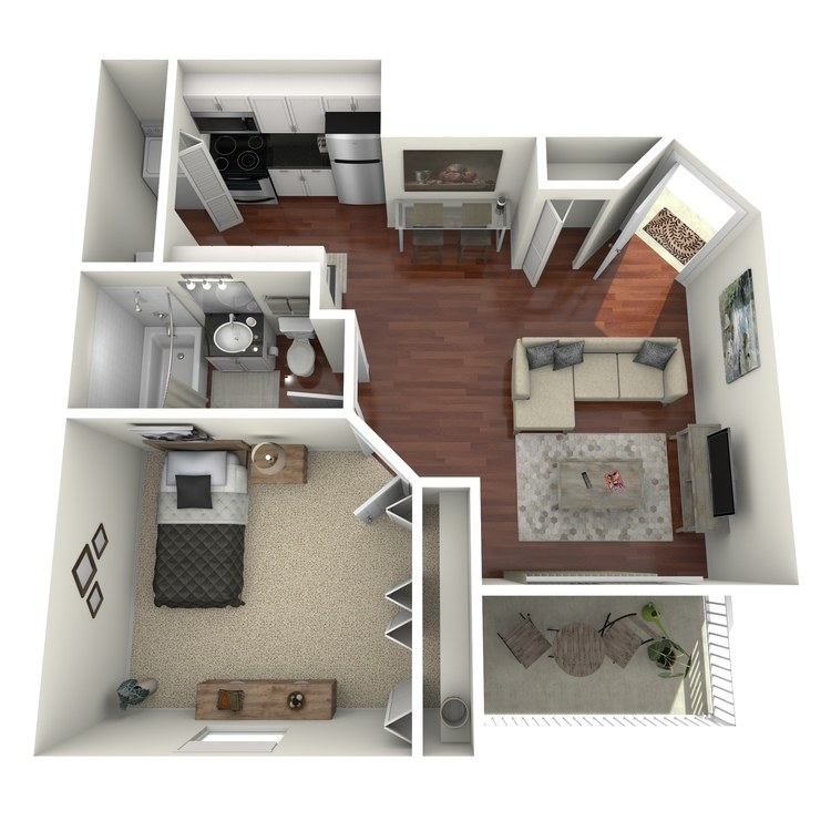 Floor plan image of Ruby