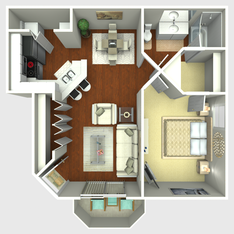 Floor plan image of Scarlet