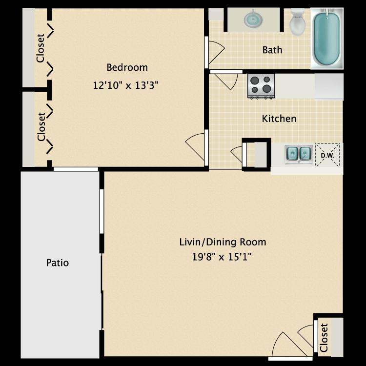 Floor plan image of C-1