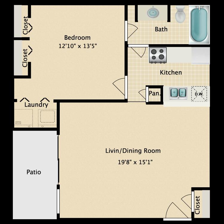 Floor plan image of C-2