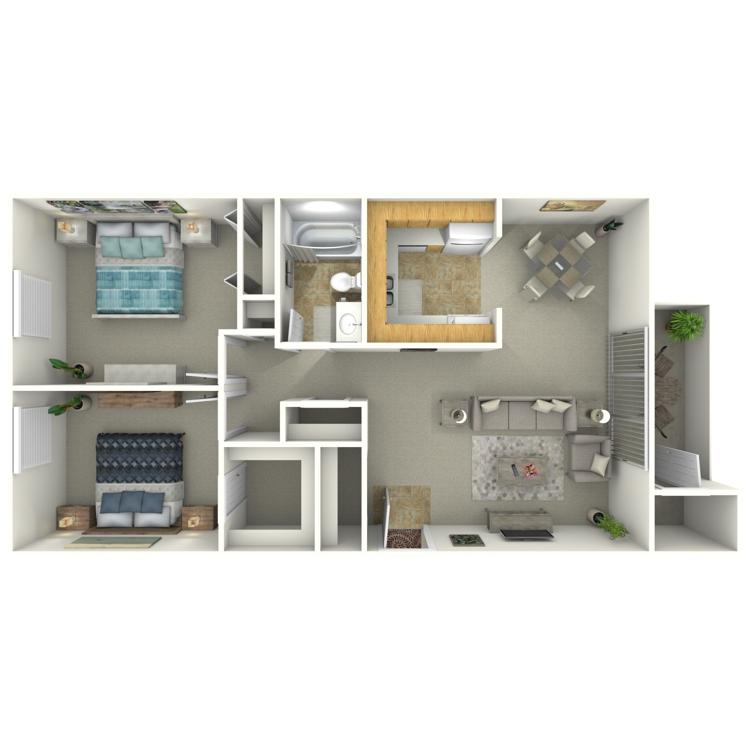 Floor plan image of The Elm