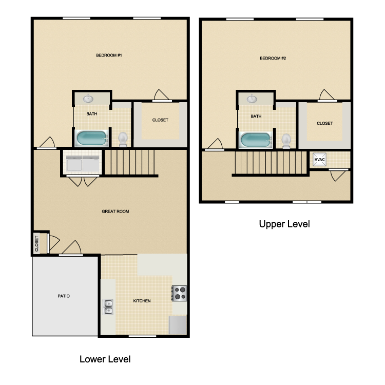 Floor plan image of Crestone Peak
