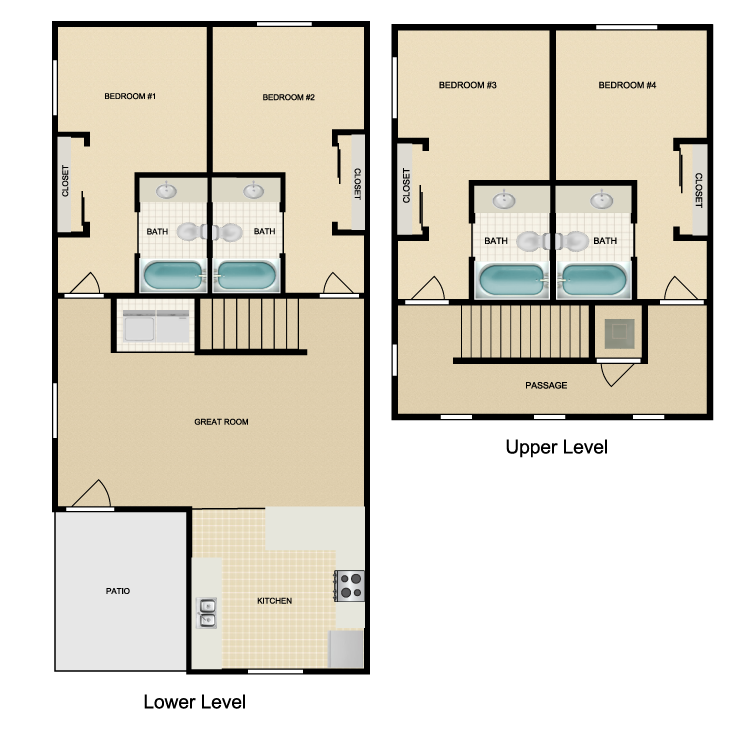 Floor plan image of Greys Peak